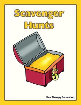 Scavenger Hunts - School and Home