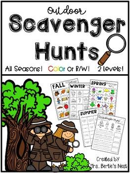 Scavenger Hunts for All Seasons