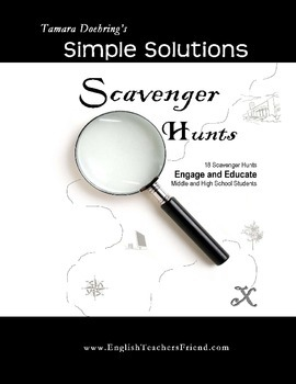 COLLECTION: Scavenger Hunts to Engage and Educate Middle & High School Students