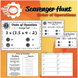 Scavenger hunt: Order of Operation (PMDAS: No Exponents)
