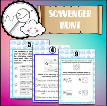 ScavengerHunt by unit: Properties of Matter