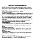 Scenario Example-Using Pedagogical Language Frames-Instruc