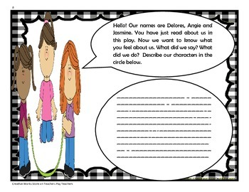 Scene Two - 4th Grade -  Trifolds + Activities