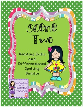 Scene Two Reading and Spelling Bundle (Reading Street)