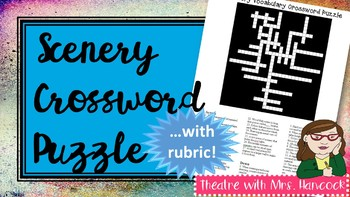 Scenery Crossword Puzzle