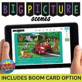 Big Picture Scenes: Wh- Questions + NO PRINT/Digital PDF