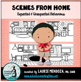 Scenes from Home: Identifying Expected & Unexpected Behaviors