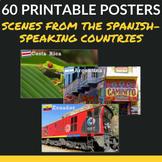 Scenes from Latin America Printable Posters - Hispanic Her