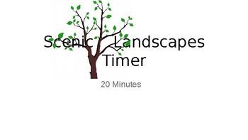 Scenic Landscapes Timer