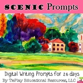 Scenic Painting Writing Prompts Unit