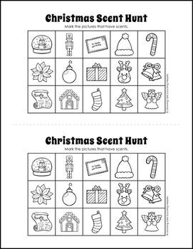 "Scent Hunt Game: Christmas Version - Girl Scout Brownies - ""Senses"" Pk (Step 3)"