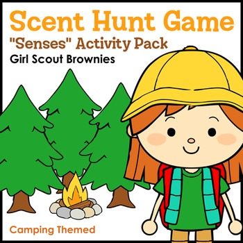 """Scent Hunt Game - Girl Scout Brownies - """"Senses"""" Activity Pack (Step 3)"""