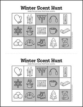 "Scent Hunt Game: Winter Version - Girl Scout Brownies - ""Senses"" Pk (Step 3)"