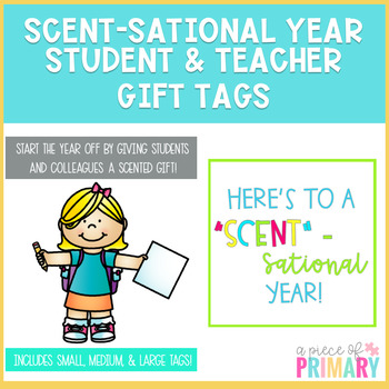 Scent-Sational Year Gift Tags