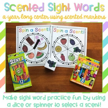 Scented Sight Words {A Free Sample}