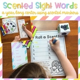 Sight Word Center with Scented Markers {EDITABLE}
