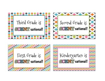 Scentos Gift Tags