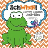 SchWhat: Schwa Sound Activities