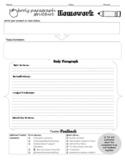 Schaffer Method Homework Graphic Organizer