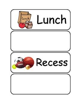 Schdule Card