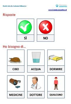 Schede per comunicare con la persona afasica