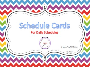 Schedue Time Cards