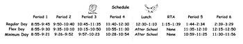 Schedule Banner - Owls