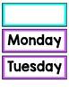 Schedule Cards