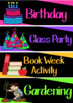 Schedule Cards - Bright and Bold *Editable*