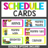 Schedule Cards Brights