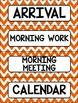 Editable Schedule Cards Chevron