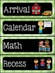Schedule Cards (Colorful Chevron & Chalkboard Theme)