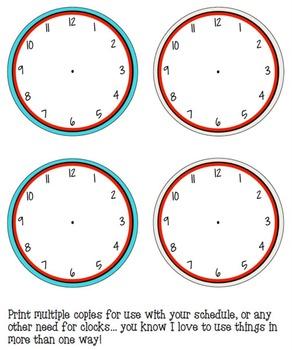 Schedule Cards - Cursive Multi Dots