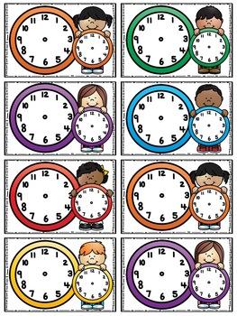 Schedule Cards (Cuties Kids) - 28 Programmable Cards