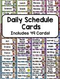 Schedule Cards EN
