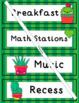 Schedule Cards (Editable):  Cactus Theme