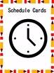 Schedule Cards *EDITABLE*