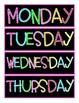 Schedule Cards FREEBIE