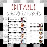 Schedule Cards {Farmhouse Classroom Theme Decor}