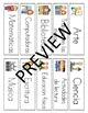 Schedule Cards / Horario bundle
