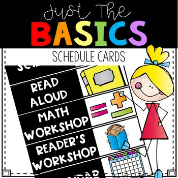 Schedule Cards - Just the Basics