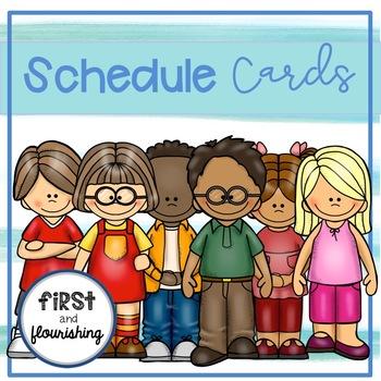 Schedule Cards (Kids)