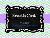 Schedule Cards (Light)