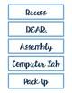 Schedule Cards PDF