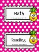 FREEBIE: Schedule Cards (Pineapple Theme)