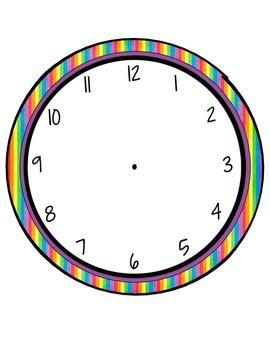 Schedule Cards - Print Rainbow