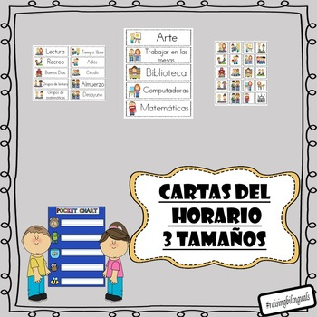 Schedule Cards (Spanish)