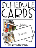 Schedule Cards With Real Life Pictures