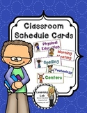 Schedule Cards for Bulletin Boards