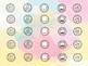 Schedule Cards w/ Clockface - Watercolor